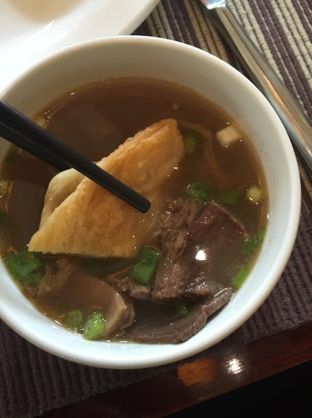 Donkey soup - a popular breakfast dish with the locals in Kaifeng and Zhengzhou